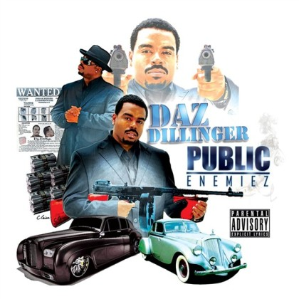 Daz Public Enemiez Cover